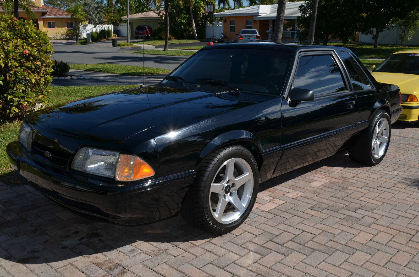 1993 ford mustang lx fox body coupe 01 cobra swap supercharged engine