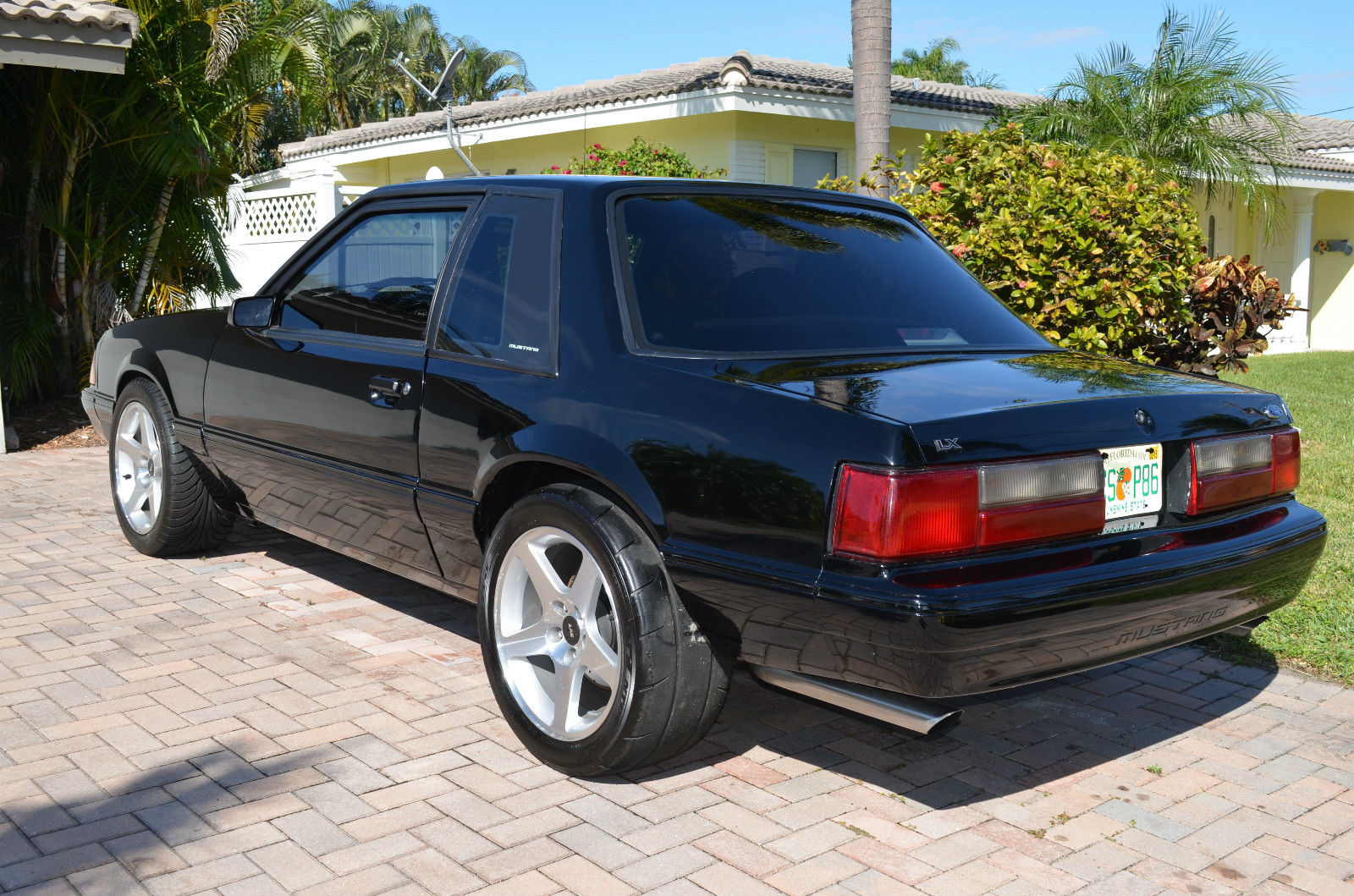 1993 ford mustang lx fox body coupe 01 cobra swap supercharged engine. Black Bedroom Furniture Sets. Home Design Ideas