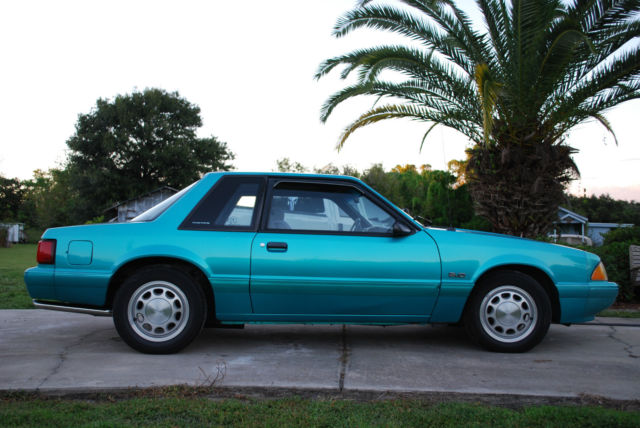 1993 Ford Mustang Lx Notchback Coupe Fhp Ssp 1 Of 3