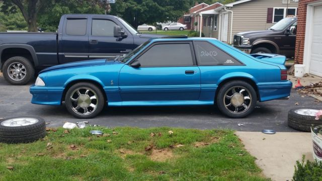 1993 ford mustang svt cobra for sale supercharged mint 77k miles. Black Bedroom Furniture Sets. Home Design Ideas