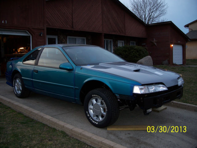 1993 ford thunderbird l x 5 0 restored to a super coupe version super clean. Black Bedroom Furniture Sets. Home Design Ideas