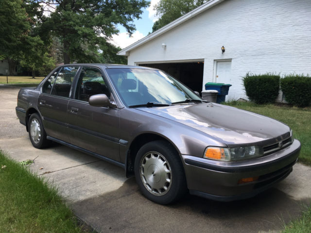 1993 honda accord ex 5 speed manual