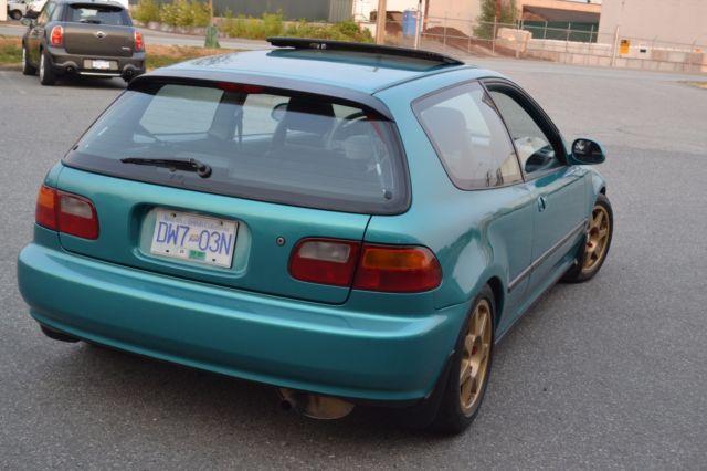 Honda Civic Hubcaps >> 1993 Honda civic SI EG hatchback hatch MANUAL hb TYPE R ej ek sir jdm itr gsr