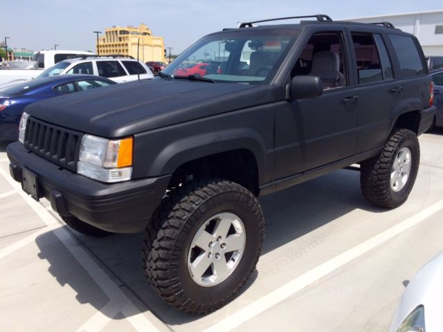 1993 jeep grand cherokee zj 7 long arm lifted 4x4 off road machine. Black Bedroom Furniture Sets. Home Design Ideas
