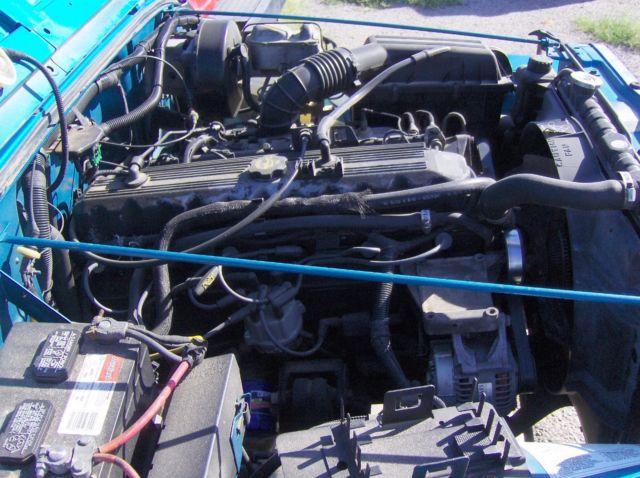 1993 jeep wrangler yj 4x4 5sp 4 0 engine for Chaparral motors el paso tx