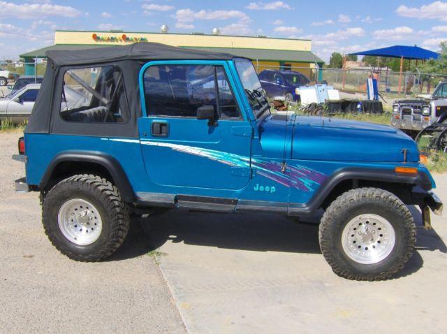 1993 jeep wrangler yj 4x4 5sp 4 0 engine. Black Bedroom Furniture Sets. Home Design Ideas