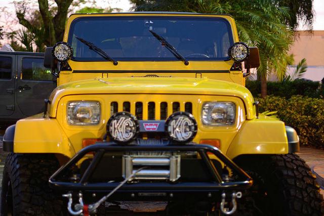 1993 Jeep Wrangler YJ V8 Conversion
