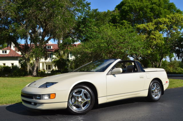 1993 nissan 300zx convertible abs 18 chrome wheels cruise. Black Bedroom Furniture Sets. Home Design Ideas