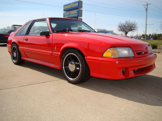 1993 red cobra r 41 of 107 only 239 miles a true collector car must see. Black Bedroom Furniture Sets. Home Design Ideas