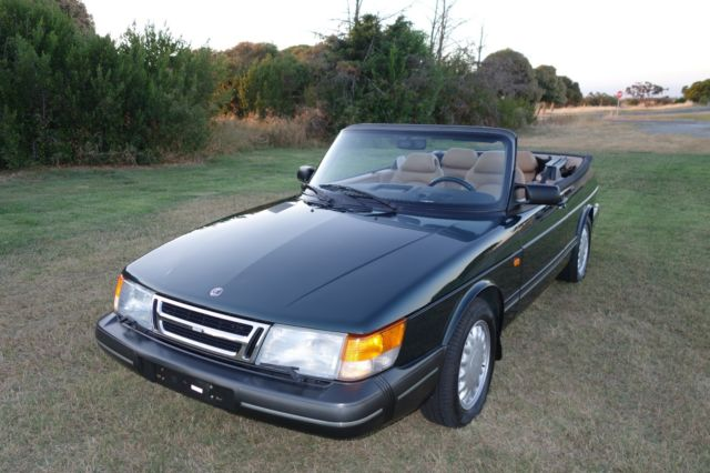 1993 Saab 900 S Convertible 2 1l 60 400 Miles  All