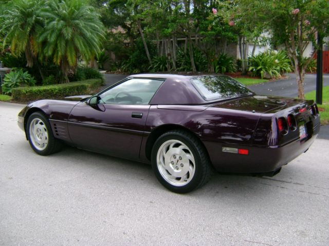 1994 blk rose tan conv w cc2 roof 11000 mi gem mint 1 of 50 built. Black Bedroom Furniture Sets. Home Design Ideas