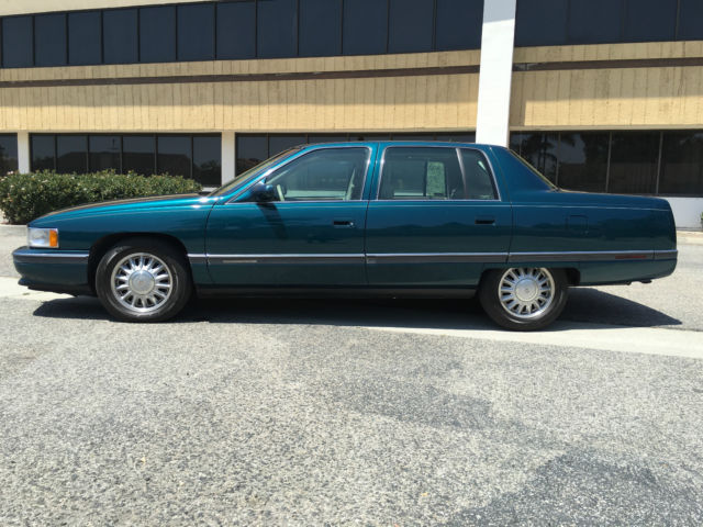 1994 cadillac deville concours excellent condition 77k miles immaculate int. Black Bedroom Furniture Sets. Home Design Ideas