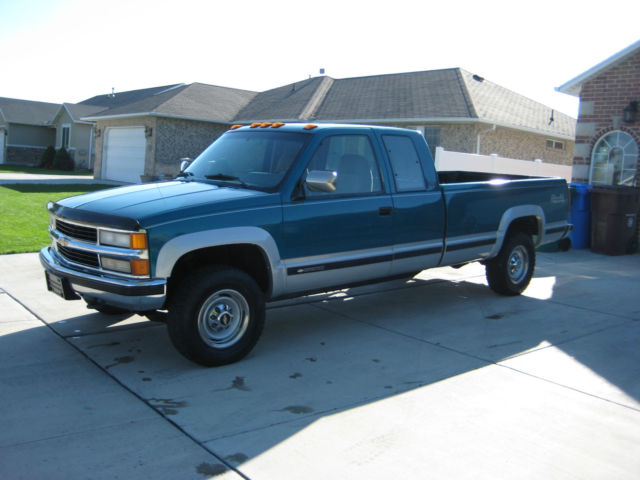 1994 chevrolet k2500 silverado extended cab pickup 2 door 7 4l. Black Bedroom Furniture Sets. Home Design Ideas