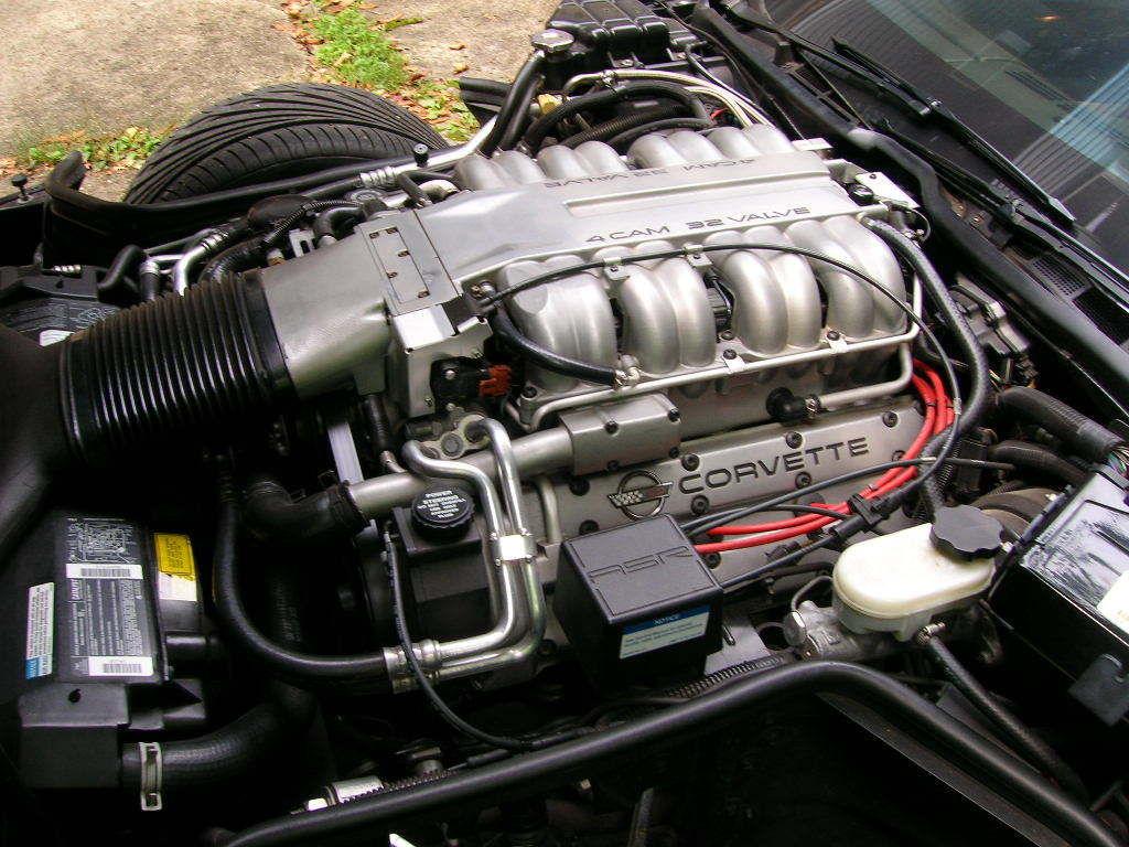 1994 CORVETTE ZR1 LT5 6spd. 430HP RARE COLOR BLACK ROSE ...