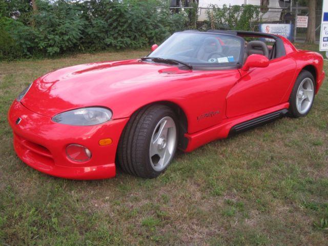 1994 Dodge Viper R T 10 Red A C New Tires 19k Reserve