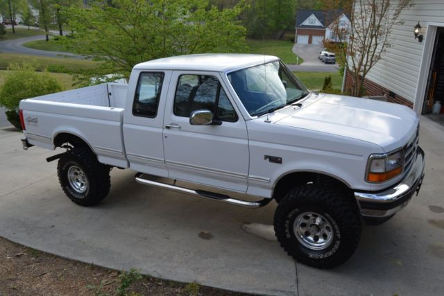 F Xlt Extended Cab X L Excellent Condition No Reserve on 1994 F150 Engine