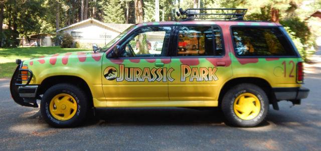 1994 ford explorer jurassic park replica no reserve sell worldwide 4x4 auto. Black Bedroom Furniture Sets. Home Design Ideas
