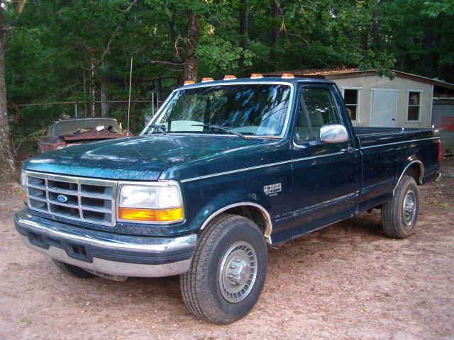 1994 ford f 250 7 3 turbo diesel idi reg cab long bed solid rust free work truck. Black Bedroom Furniture Sets. Home Design Ideas