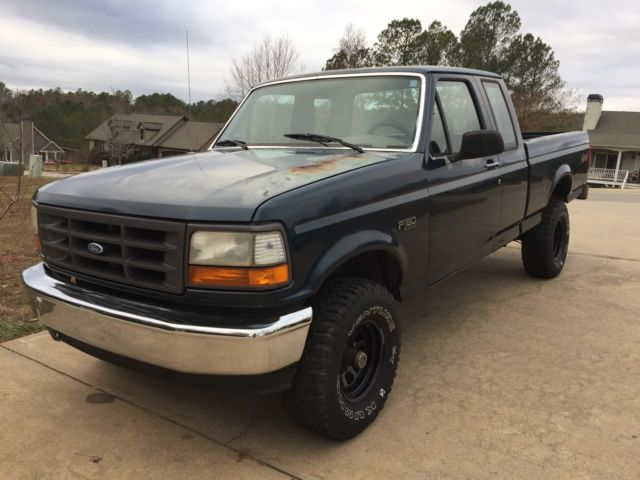 1994 ford f150 4x4 extended cab pickup truck no reserve. Cars Review. Best American Auto & Cars Review