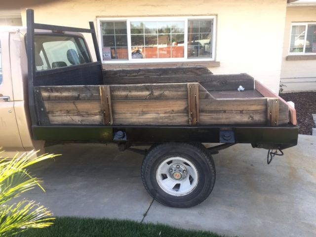 1994 Ford F150 With Flatbed Great Little Work Truck 50k Miles 6