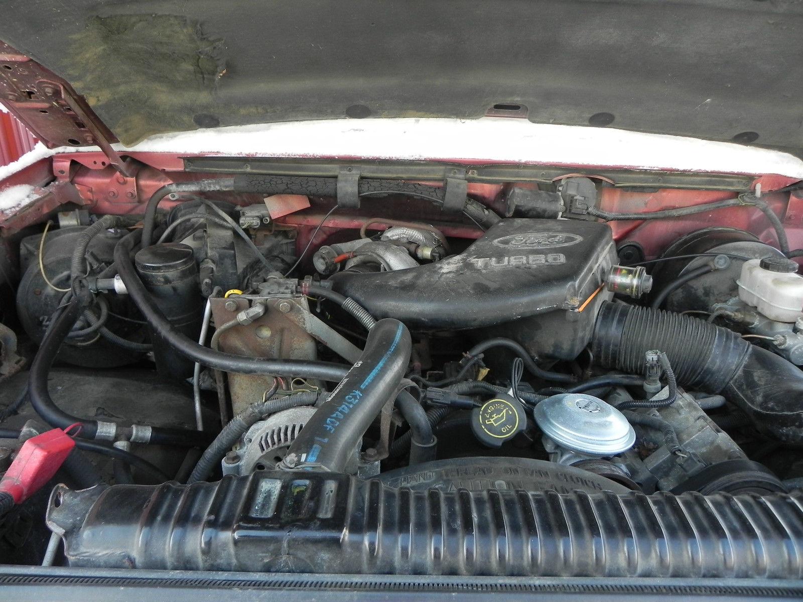 1994 Ford F250 7.3 IDI Turbo Diesel 4X4 auto, flatbed ...
