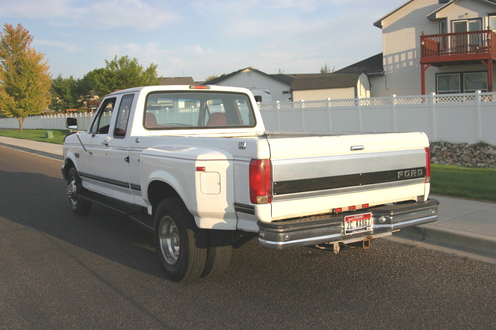 Ford F350 4 Door Extended Cab >> 1994 Ford F350 Dually Extended Cab