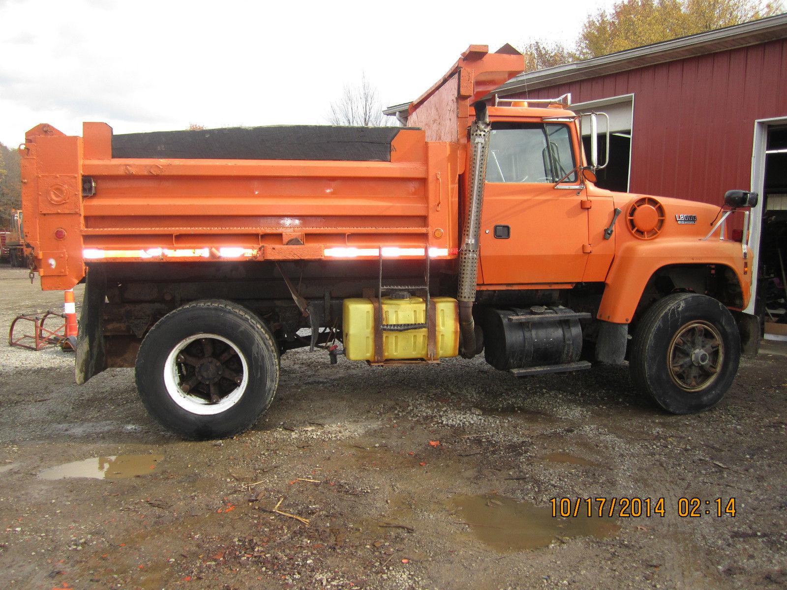 Heavy Duty Truck For Sale Ohio >> 1994 FORD L8000 DIESEL AUTO ALLISON TRANS DUMP TRUCK NICE SHAPE
