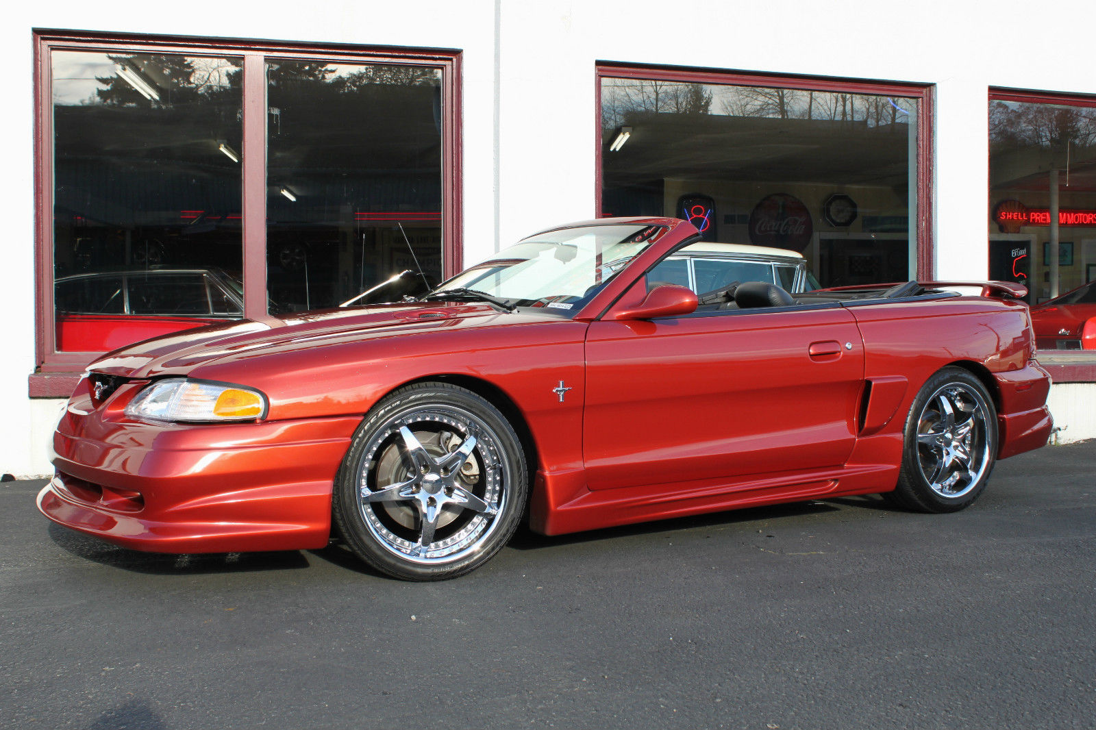 1994 ford mustang gt convertible custom ford racing boss 345hp new motor