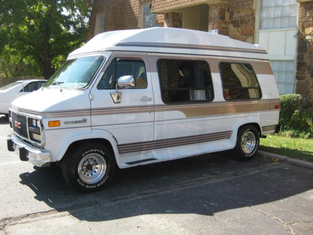 1994 high top gmc vandura 2500 3 4 ton custom conversion van. Black Bedroom Furniture Sets. Home Design Ideas
