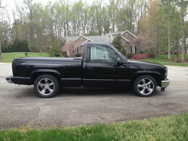 1994 hot rod chevy c1500 stepside pickup truck 500hp 408ci ls motor 4l80e auto. Black Bedroom Furniture Sets. Home Design Ideas