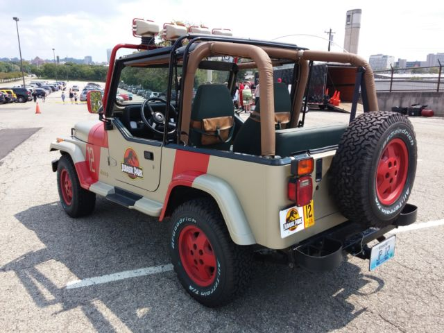 jurassic park replica 12 very accurate 1994 jeep wrangler for sale. Cars Review. Best American Auto & Cars Review