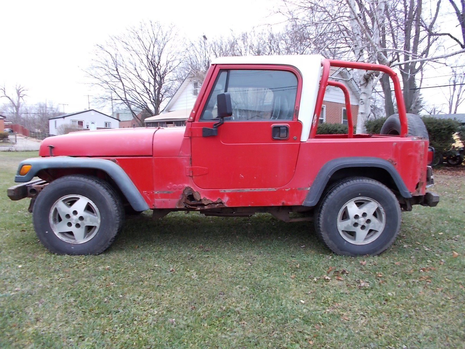 Jeep Wrangler Carb