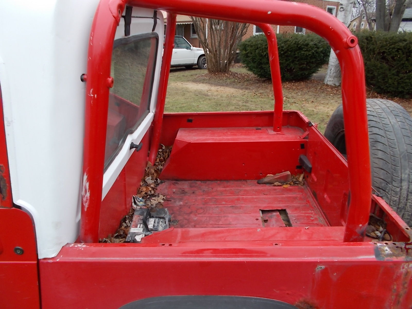 1994 Jeep Wrangler Yj Half Hardtop 2 5 Amc 5 Speed Tranny 4x4 Weber