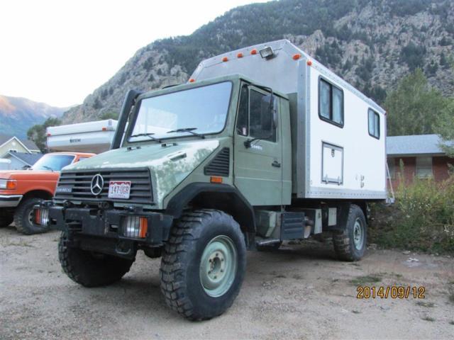 1994 Mercedes Unimog Expedition Camper U140l