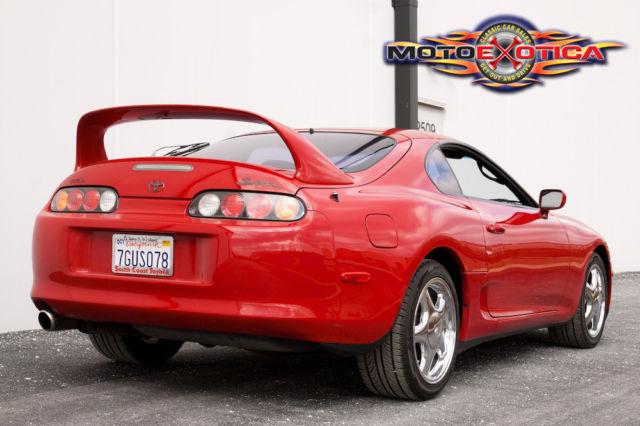 1994 Toyota Supra Turbo Lift Back Stock California Numbers