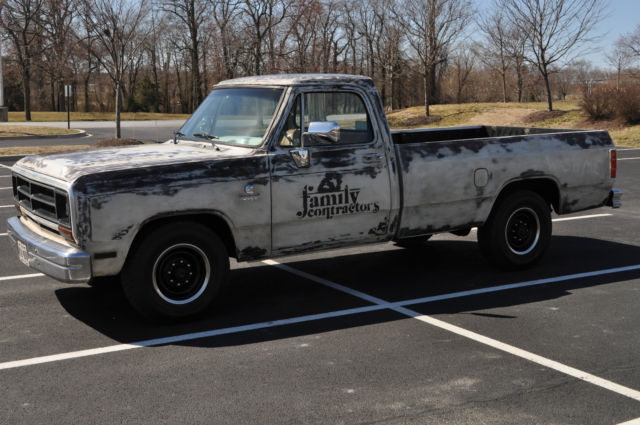 1st gen dodge patina truck, cummins, shop truck, turbo diesel