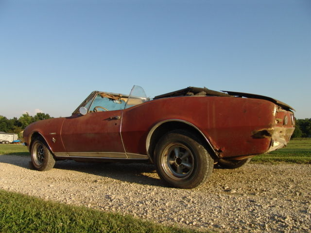 2 X Rare 1967 Camaros S Match Rs Ss 350 Convertible