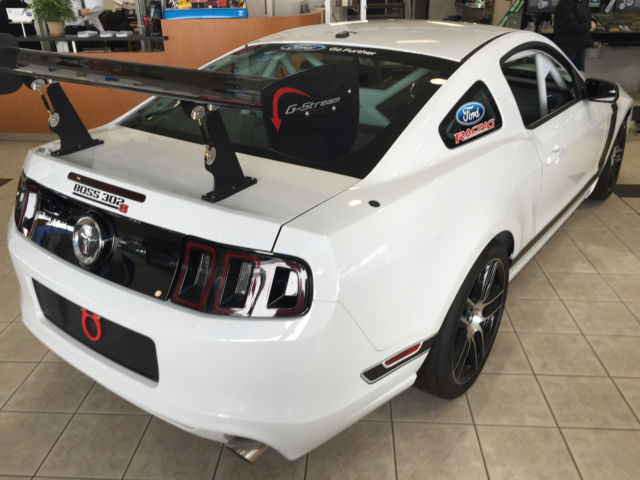 2014 Ford Mustang Boss 302 S 302s Ford Racing Factory Race Car New