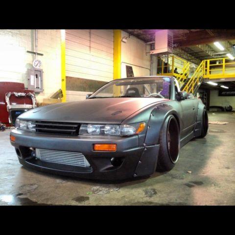 240sx Rocket Bunny Convertible S13 Drift Car