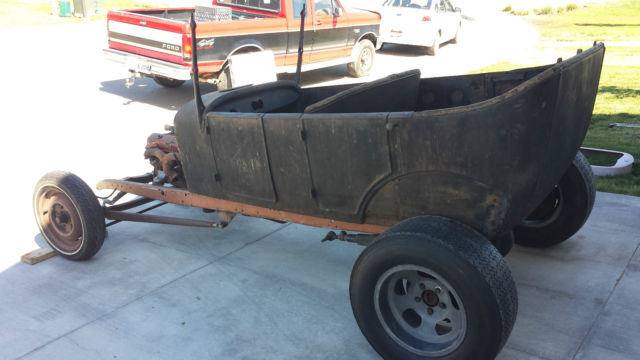 27 Model T Touring Roadster Hot Rod Project For Sale In
