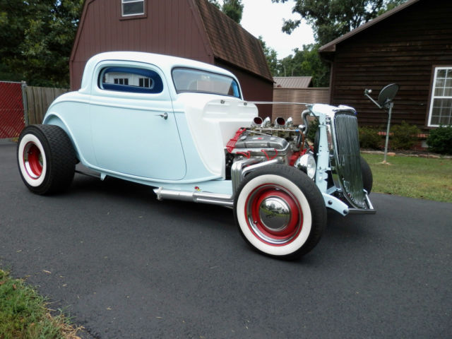 34 Ford Coupe All New Street Rod Custom Classic Hot Rod