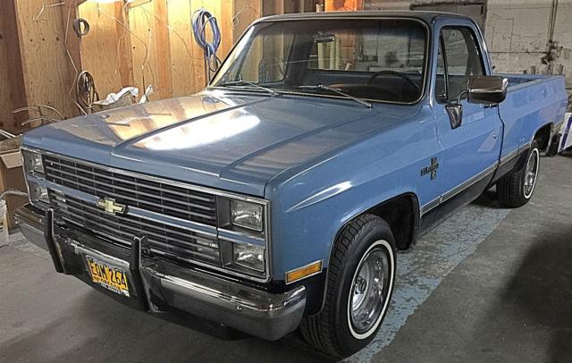 34k original miles amazing condition 1983 chevrolet c10 silverado. Black Bedroom Furniture Sets. Home Design Ideas