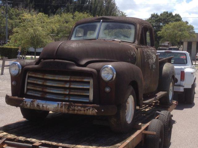 51 gmc 3100 deluxe 5 window short box pick up rat rod for 1951 gmc 5 window pickup