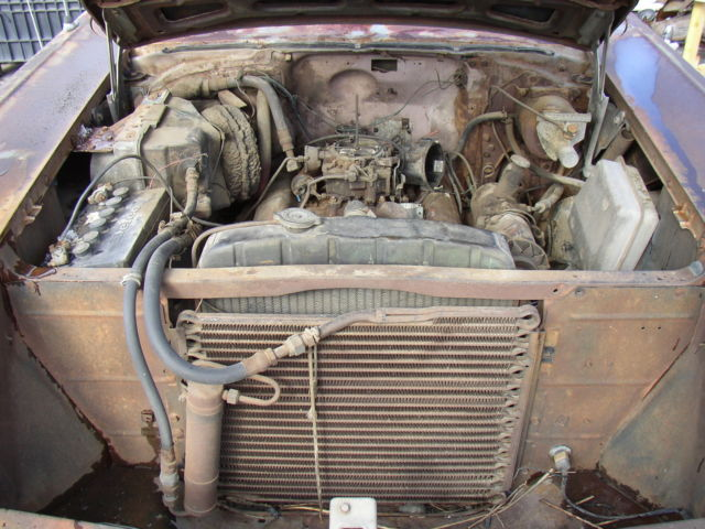 57 chevy 4 door belair with factory air