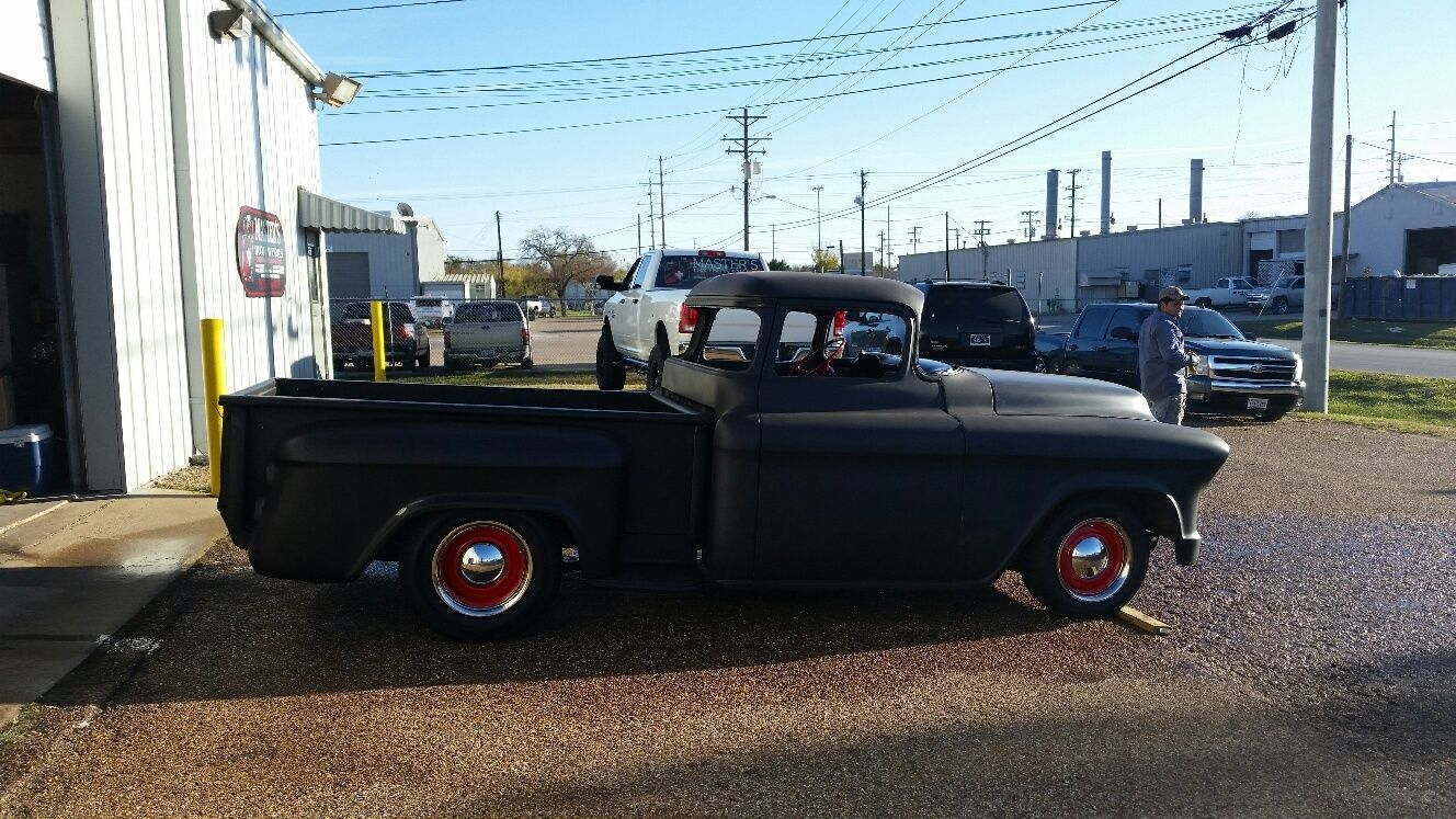 57 Chevy Truck Big Window Chopped Rum Runner 1957 Camaro Clip