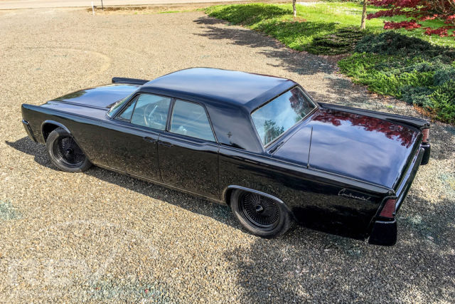 [ZHKZ_3066]  61 Continental - Suicide doors, Murdered out black on 18