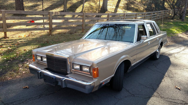 61k Moonroof 1989 Lincoln Town Car Towncar Ltd Grand Marquis Crown