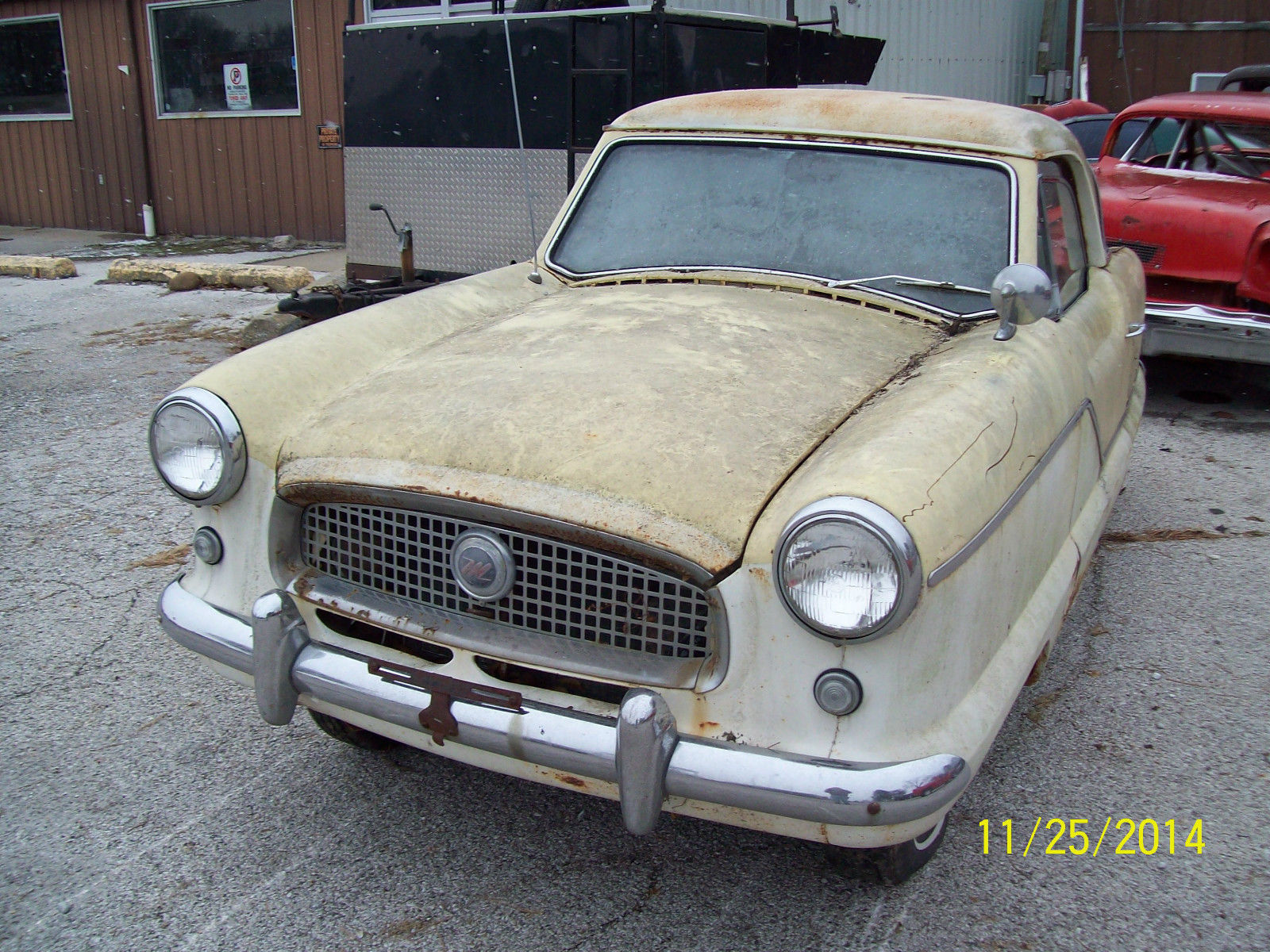 62 metropolitan nash american motors race car project for American classic motors for sale