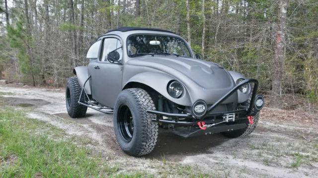 63 Baja Quot Bad Bug Quot Ragtop Full Cage Type 2 Trans 2110cc