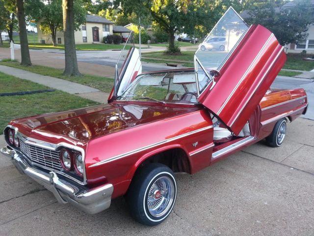64 chevy impala lowrider